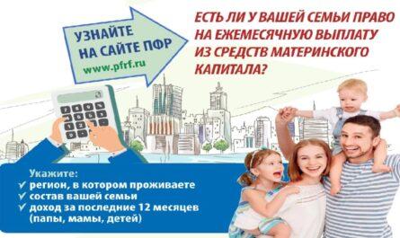 Как получить ежемесячную выплату из материнского капитала в 2021 году